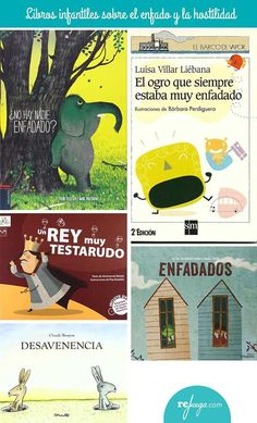 Libros para niños sobre el enfado