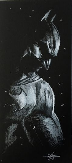 Original Comic Art titled Batman by Gabrielle Dell'otto , located in Raghav's Gabriele Dell'otto Comic Art Gallery Batman Painting, Batman Artwork, Batman Wallpaper, Batman Comic Art, Im Batman, Batman Robin, Personnage Dc Comics, Batman Poster, Joker And Harley