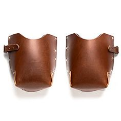 Leather & Felt Knee Pads