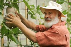 """Gardening just makes me happy,"" says Dr. Weil, who can often be found working amongst the vegetables and flowers of his organic garden. Organic Fruit, Organic Vegetables, Food Safety Tips, Food Tips, Dr Andrew Weil, Greenhouse Growing, Good Health Tips, Organic Gardening Tips, Best Selling Books"