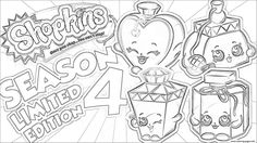 shopkins season 4 limited edition coloring pages printable and coloring book to print for free find more coloring pages online for kids and adults of