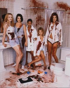 10 Celebrity #TBT Photos You May Have Missed This Week - SMG promoting Scream 2