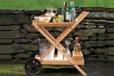 Photo: David Prince | thisoldhouse.com | How to Build an Outdoor Bar Cart