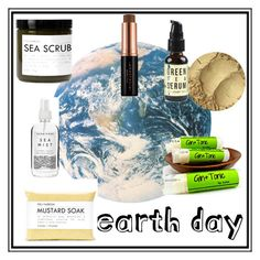 """Earth Day: All natural Beauty"" by ohmysweetgoodness ❤ liked on Polyvore featuring beauty, Anastasia Beverly Hills, Herbivore and Fig+Yarrow"