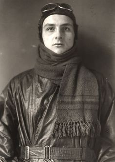 "August Sander: Aviator, 1920 by kraftgenie, via Flickr  Ever since I saw ""Notebook on cities and clothes"" by Wim Wenders, I have been obsessed with the work of August Sander. Amazing pictures."