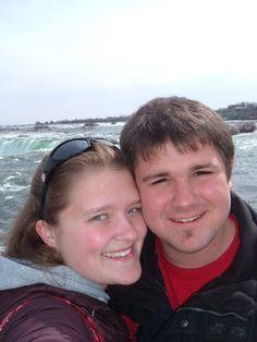 Wes and I at Niagara Falls