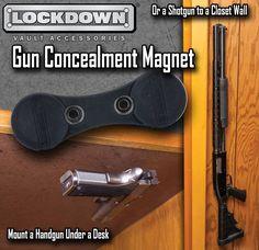 Gun Concealment Magnets