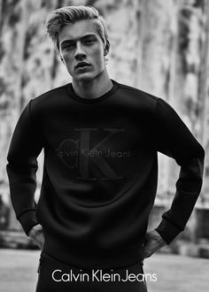 CALVIN KLEIN JEANS BLACK SERIES LIMITED EDITION CAMPAIGN Lucky Blue Smith &