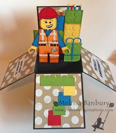 Lego Movie Card in a Box