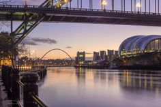 Sunrise on the Tyne