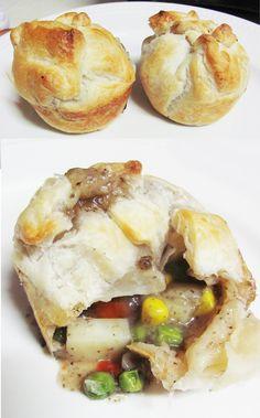 vegan muffin pies