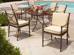 Landgrave Toledo Cast Aluminum Cushion Dining Set by Landgrave. $4131.40. Shop for cast aluminum dining sets at PatioFurnitureBuy.com today and save! When looking for top quality Landgrave furniture products for your outdoor furniture needs, this Landgrave toledo cast aluminum cushion dining set (LTODS) will provide years of enjoyment for your furniture decor.