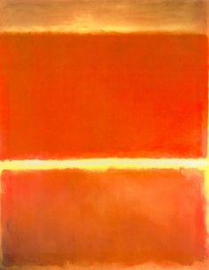 Mark Rothko, Saffron.