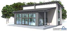 Not the style, but the footprint: Floor area: 1528 sq ft Building area: 1238 sq ft Bedrooms: 3 Bathrooms: 2 Floors: 2 Height: 22′ 4″ Width: 42′ 8″ Depth: 31′ 6″