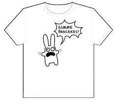Gimme Pancakes Roboppy T-Shirt (Toddler)