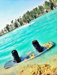 My parks Bonifay signature ronix ibex ATR at wake island watersports