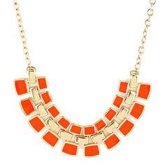 Gorgeous venta caliente del color del caramelo adornado collar pendiente geométrica para las mujeres para Vender - La Tienda En Online IGOGO.ES