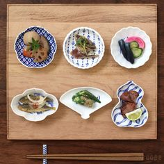 まるで雑貨のようにも見えてしまう人気の豆皿。箸休めや薬味、お漬物などに重宝します。デザインが可愛いので、来客の際にお菓子を乗せてお出ししても映えそうです❤
