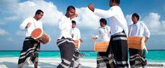 Did you know ? Kadhaa Maali dance only survives in Kulhudhuffushi in south Thiladhunmathi Atoll. All participants are dressed and costumed in evil spirits. Kaadhaa Maali is also performed by the elders who will walk around the island at night for three days in order to guard the island and the houses from the evil spirits. Learn more about Maldivian music, dance and traditions : www.facebook.com/backpackersmaldives Backpackers Maldives - Google+