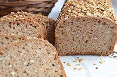 Chleb pszenny razowy na zakwasie - przepisnachleb.pl Bread Recipes, Cooking Recipes, Polish Recipes, White Bread, Pina Colada, Bread Baking, Graham, Banana Bread, Bakery