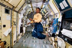 October 17, 1956-Mae Jemison, 1st African American woman in space (STS 47) is born