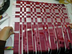 Resultado de imagen de cojines echos en cintas
