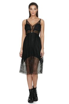 Every woman should have a chic black elegant lace dress for that special occasion. This beautiful knee length sleeveless dress is perfect Lace Overlay, Every Woman, Bodice, Lace Dress, Special Occasion, Curves, Women Wear, Delicate, Cocktail