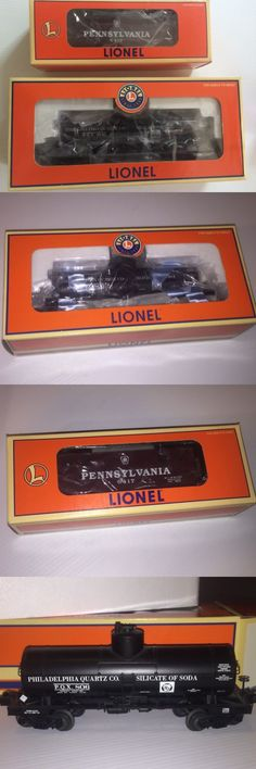 Freight Cars 122596: (2) Lionel O Gauge Cars Philadelphia Quartz Co Tanker And Pennsylvania Caboose New -> BUY IT NOW ONLY: $49.95 on eBay!
