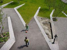 © extrā Landschaftsarchitekten- school playground Göttibach, Thun, 2012
