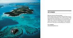 Lost in Paradise / Private Islands by PrivateIslandTravel.Com / Beverly Hills Lifestyle Magazine / Fall 2013