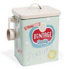 Vintage soap powder tin