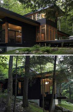 House near Lake Muskoka, Ontario, Altius Architecture