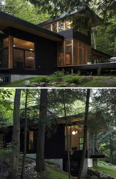 House near Lake Muskoka, Ontario, Altius Architecture