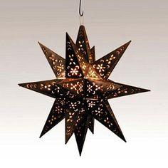 Quintana Roo 9625 Tin Moravian Star Pendant | ATG Stores