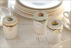 Our fruit preserve candles are the best scented candles you've tried for a while. Poured into a creamware half-pint ceramic jar, they add warmth to any room. For the best scented candles visit Antique Farmhouse. Pear Preserves, Spiced Pear, Artificial Hydrangeas, Antique Farmhouse, White Farmhouse, Ceramic Jars, French Vanilla, Vanilla Cream, Candle Making