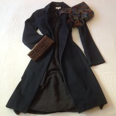 1 DAY SALEHOST PICKBARNEYS NEW YORK coat 100% cotton, tailored, beautifully lined, made in Italy, classic, dark blue. Gorgeous. Size 6. Small or x-small. Put to pit - 17, length - 38.5. Great for the Fall or Spring. Price is final and so worth it. :) Barneys New York CO-OP Jackets & Coats