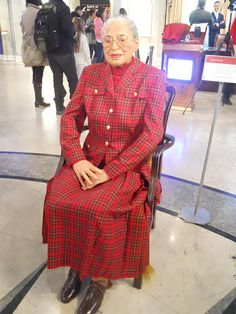 Rosa Parks at Madame Tussauds