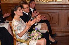Crown Princess Victoria and Prince Daniel at Royal Academy of Arts