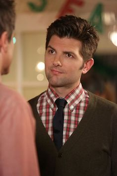 Adam Scott as Ben Wyatt/ Parks and Recreation Parks And Recs, Life Alert, Ben Wyatt, The Cardigans, Laugh Track, Tom Hanks, Skinny Ties, Parks And Recreation, Best Shows Ever