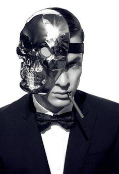 Blaise Embry / Male Models, Skull