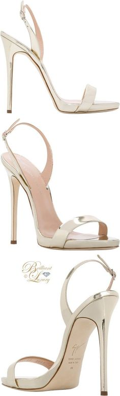 Brilliant Luxury ♦ Giuseppe Zanotti Sophie sandal #giuseppezanottiheelssandals