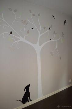 Linnut lensivät lastenhuoneeseen | Lastenhuone - Tikkurila Oyj | Kotimaalarit | Ideat