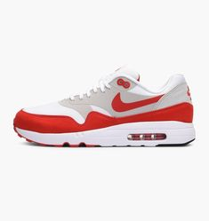 size 40 1cdb9 8c67a Nouvelle Collection Vente de Nouvelle saison Nike Basket Homme Air Max 1  Ultra 2.0 Édition Limitée Blanc Université Rouge Neutre G 908091-100.  Sports Shoes