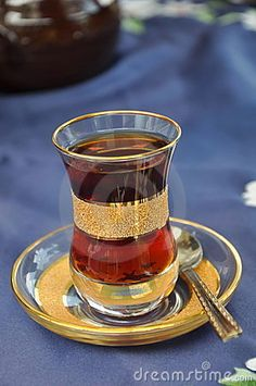Turkish tea- two lumps or 5? Turks drink their tea very strong sometimes if they know to they will make it  a little weaker for you.