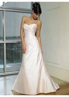 Liebsten Taft Falten Pinsel Schleppe Hochzeitskleider 2014