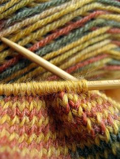 I just love the visual appeal of knitting. Maybe I need to give it another try.