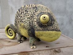 Ceramic Chameleon