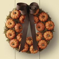 Fall Wreath Tutorial, need to make for Ann!