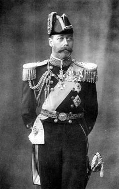 He became King George V on the death of his father Edward VII in 1910, and Mary became Queen consort.