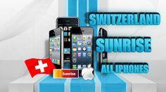 Switzerland Sunrise iPhone Unlock Permanent Official Factory Guaranteed